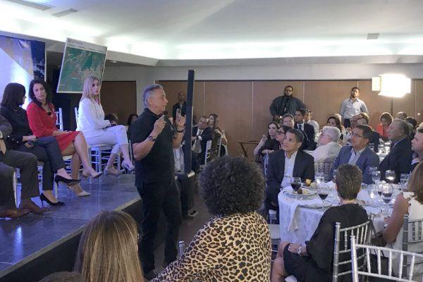 Arq. Mallol Tamayo se presenta en el 6to foro de 'Panamá en positivo'
